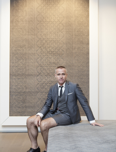 Thom Browne for The Rug Company