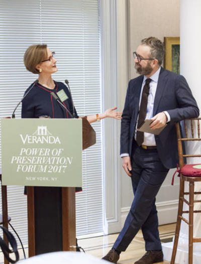 Veranda hosts Preservation Forum