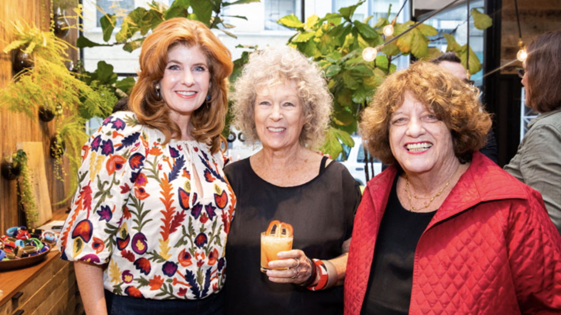 LV Wood hosts Clodagh for book signing