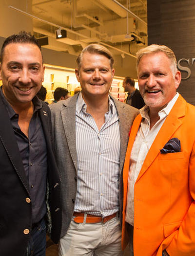 Stark's grand opening at Boston Design Center