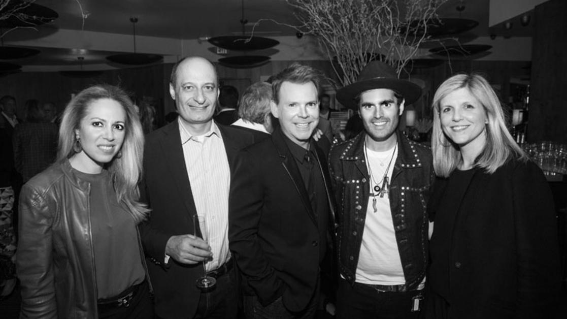 'The New Glamour' launch party