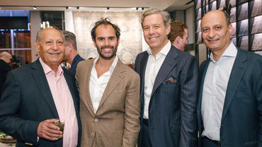 Elle Decor fetes new Mansour showroom