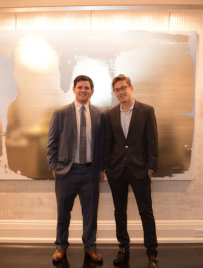 Stark and Newel host summer soiree