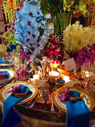 New York Botanical Garden Orchid Dinner