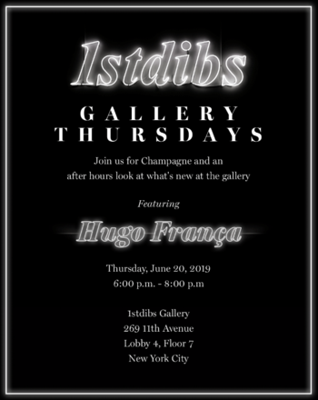Gallery Thursdays featuring Hugo França