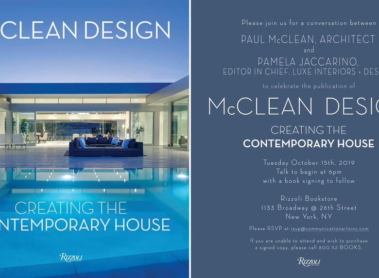 A Rare One-On-One Conversation with Noted Architect Paul McClean and Luxe Editor in Chief Pamela Jaccarino