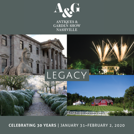 Antiques & Garden Show of Nashville celebrates 30th anniversary with the 2020 event