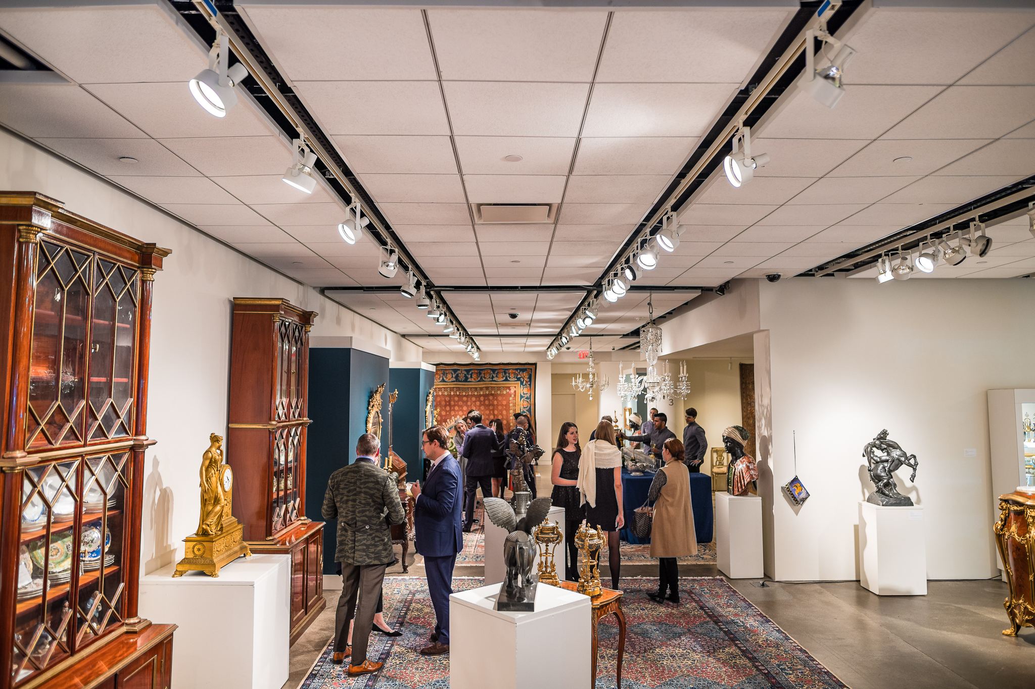 The Decorative Arts Sales exhibition