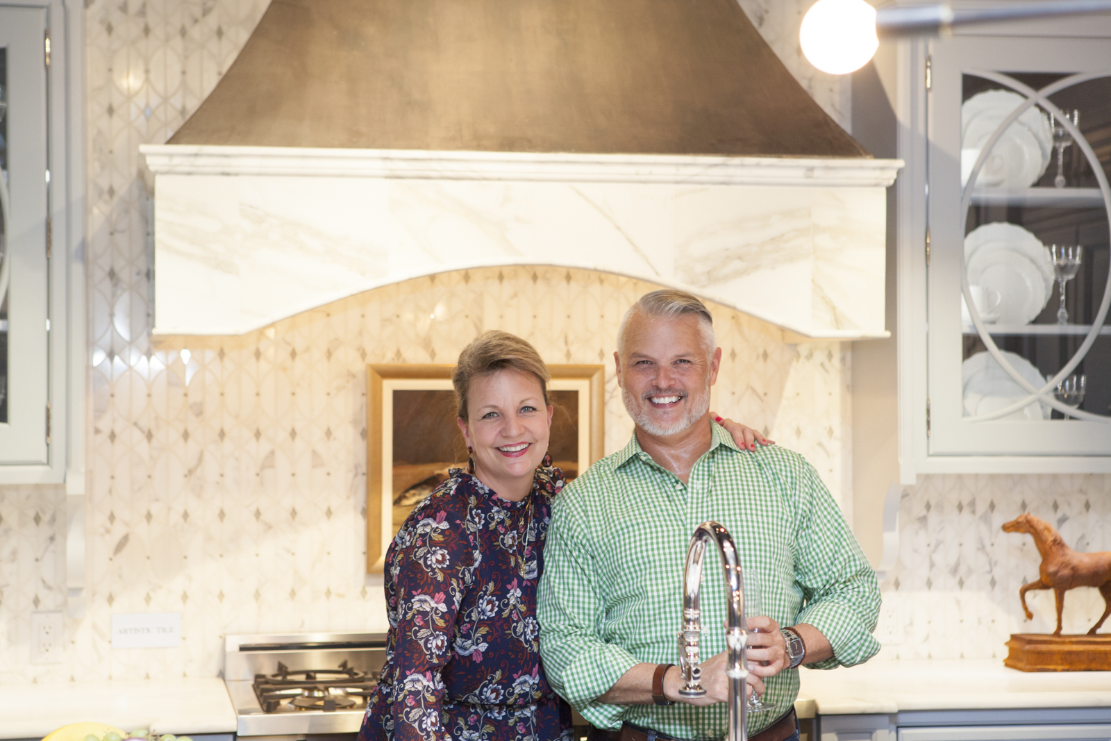 Lori Sheldon of Traditional Home, with David Patrick Hamilton