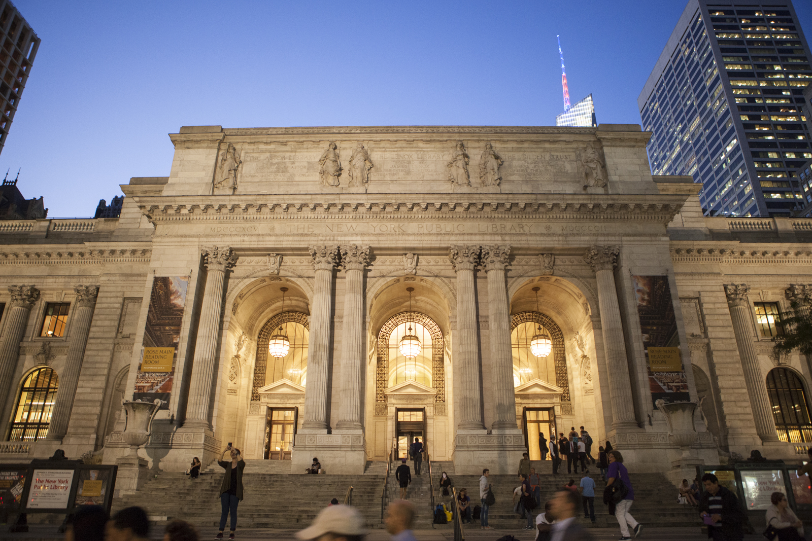 The Stephen A. Schwarzman Building of the New York Public Library