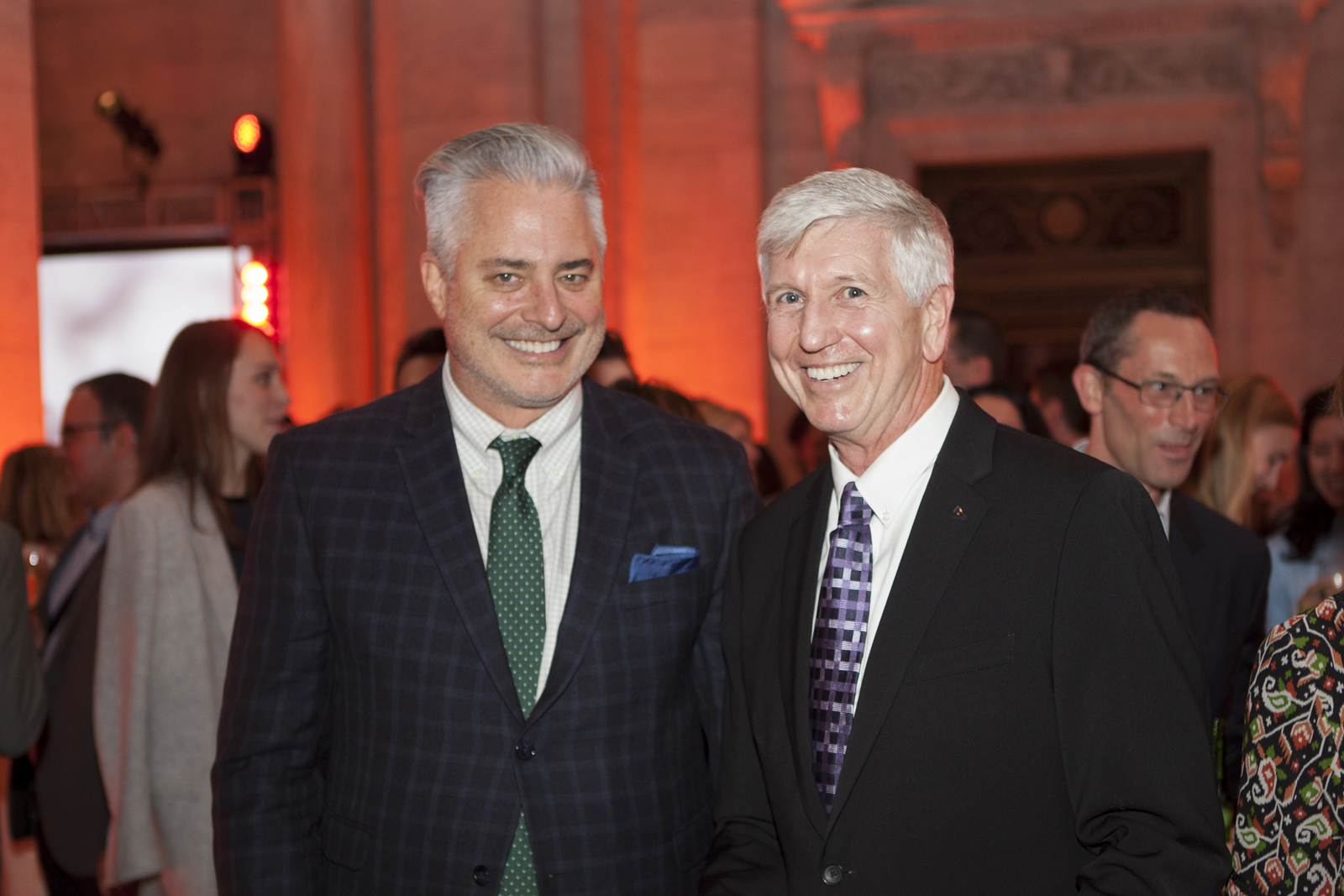 Sean Sullivan of Hearst Design Group with Carl Minchew