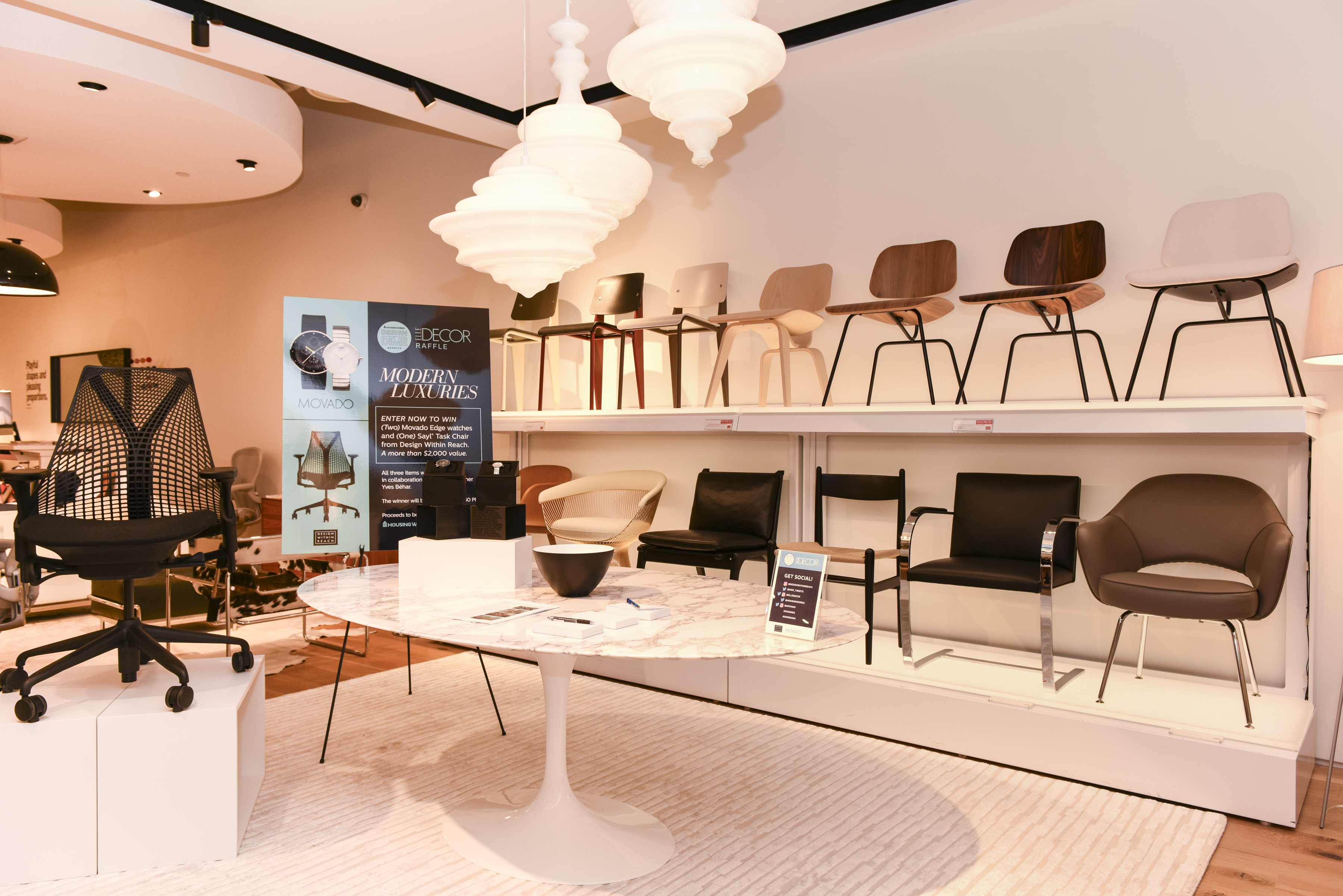 Design Within Reach showroom in the Miami Design District