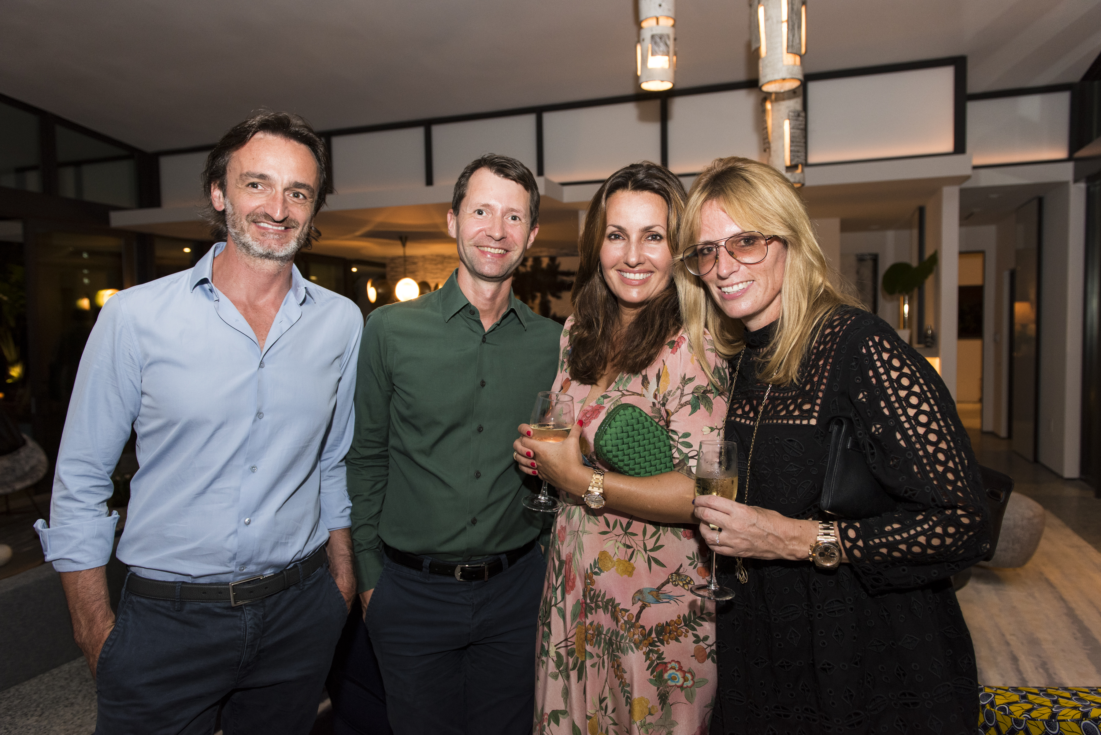 Stephan Julliard, Ian Phillips, Eloise Goldstein and Jane Suitor