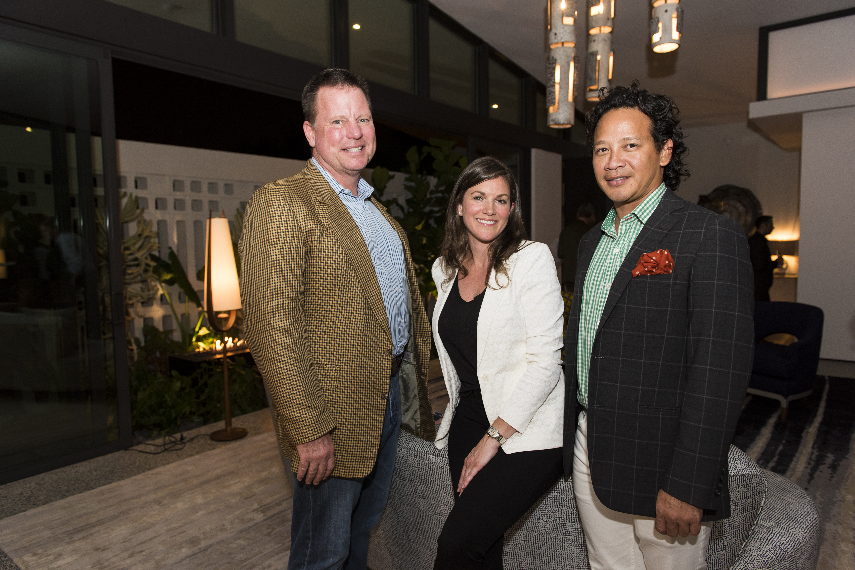 Tim Johnson, Katherine Shenaman and Fernando Wong
