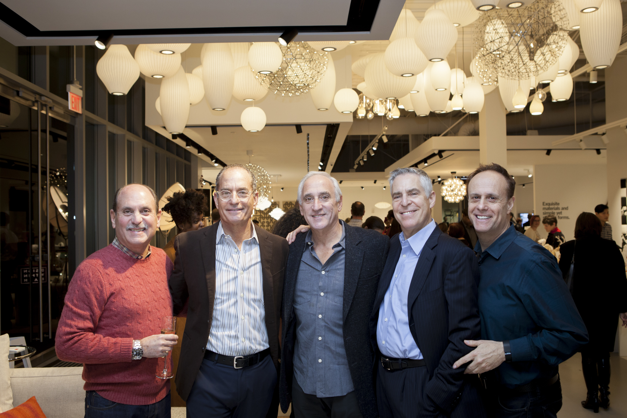 Robert Youngworth, Bruce Levenbrook, Evan Berenzweig, Lewis Orenstein and Marc Feinson