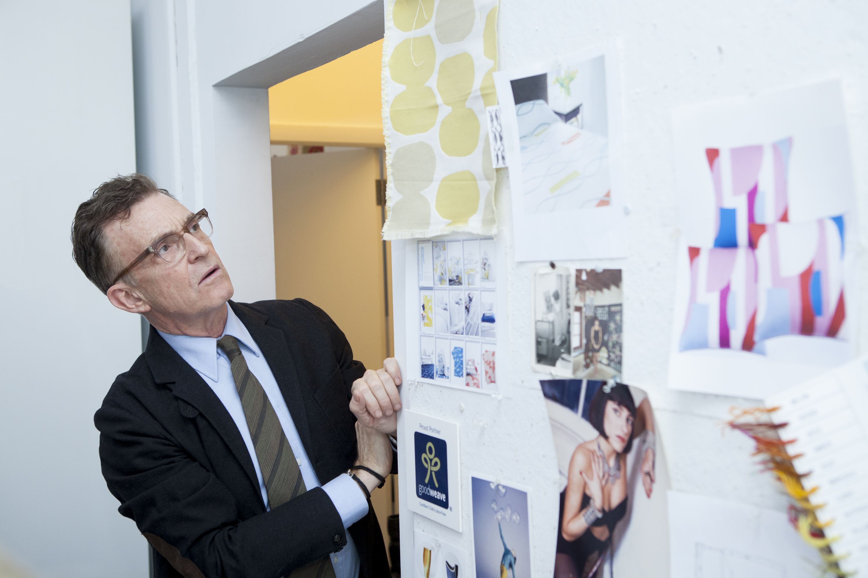 Glenn Gissler takes a closer look at the inspiration board.