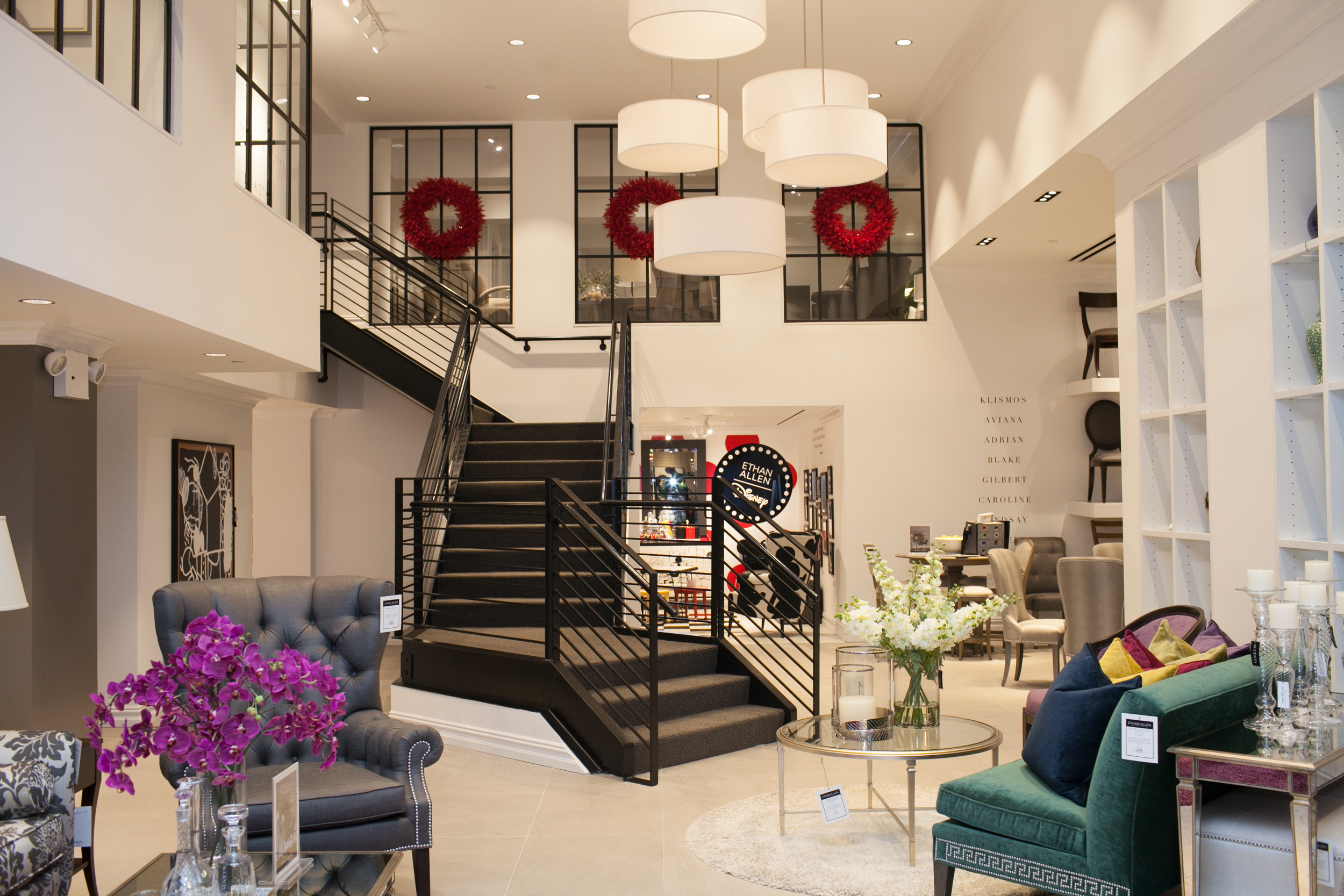 Ethan Allen's Flatiron District showroom in New York
