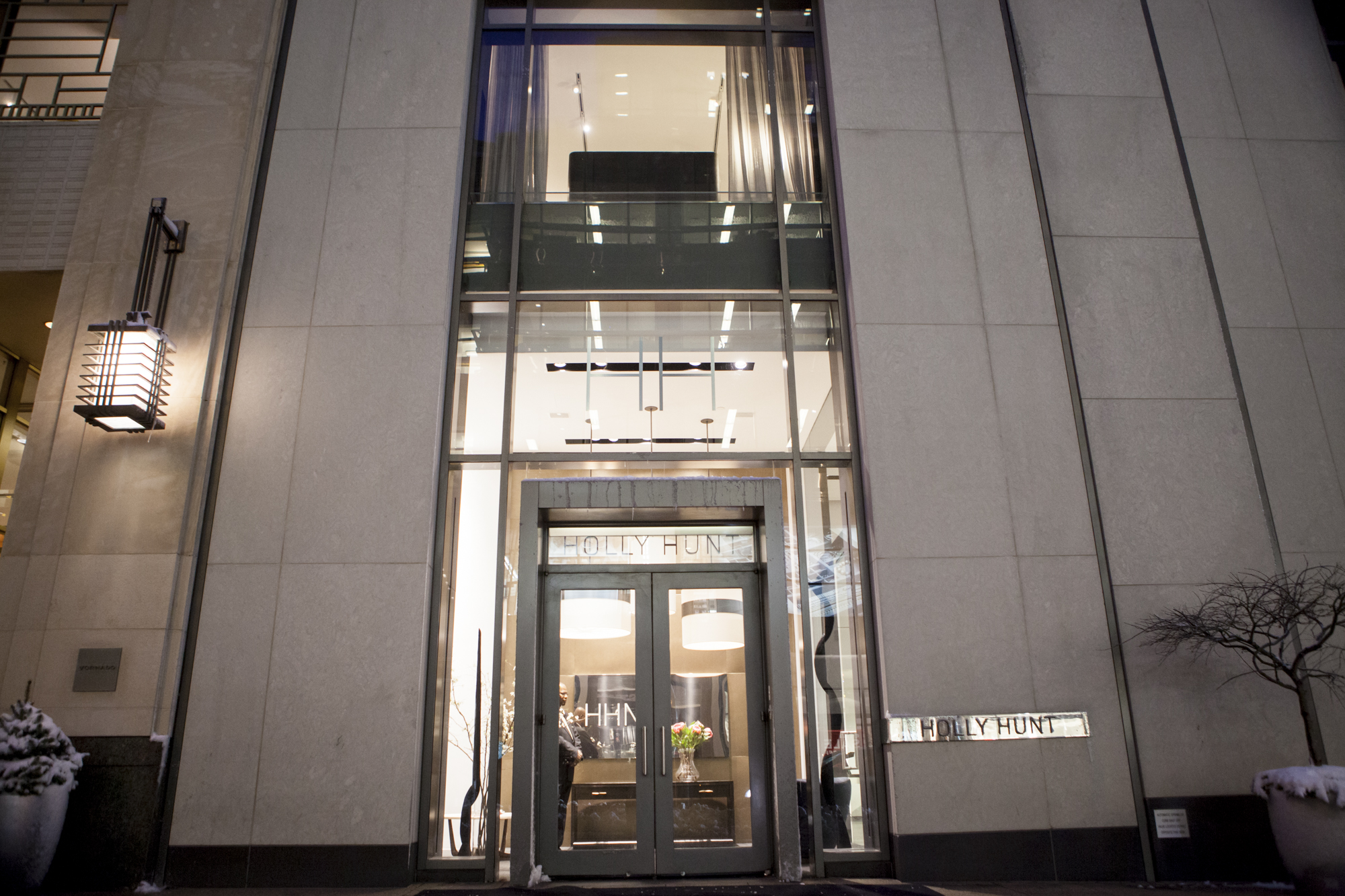 Exterior of the Holly Hunt New York showroom