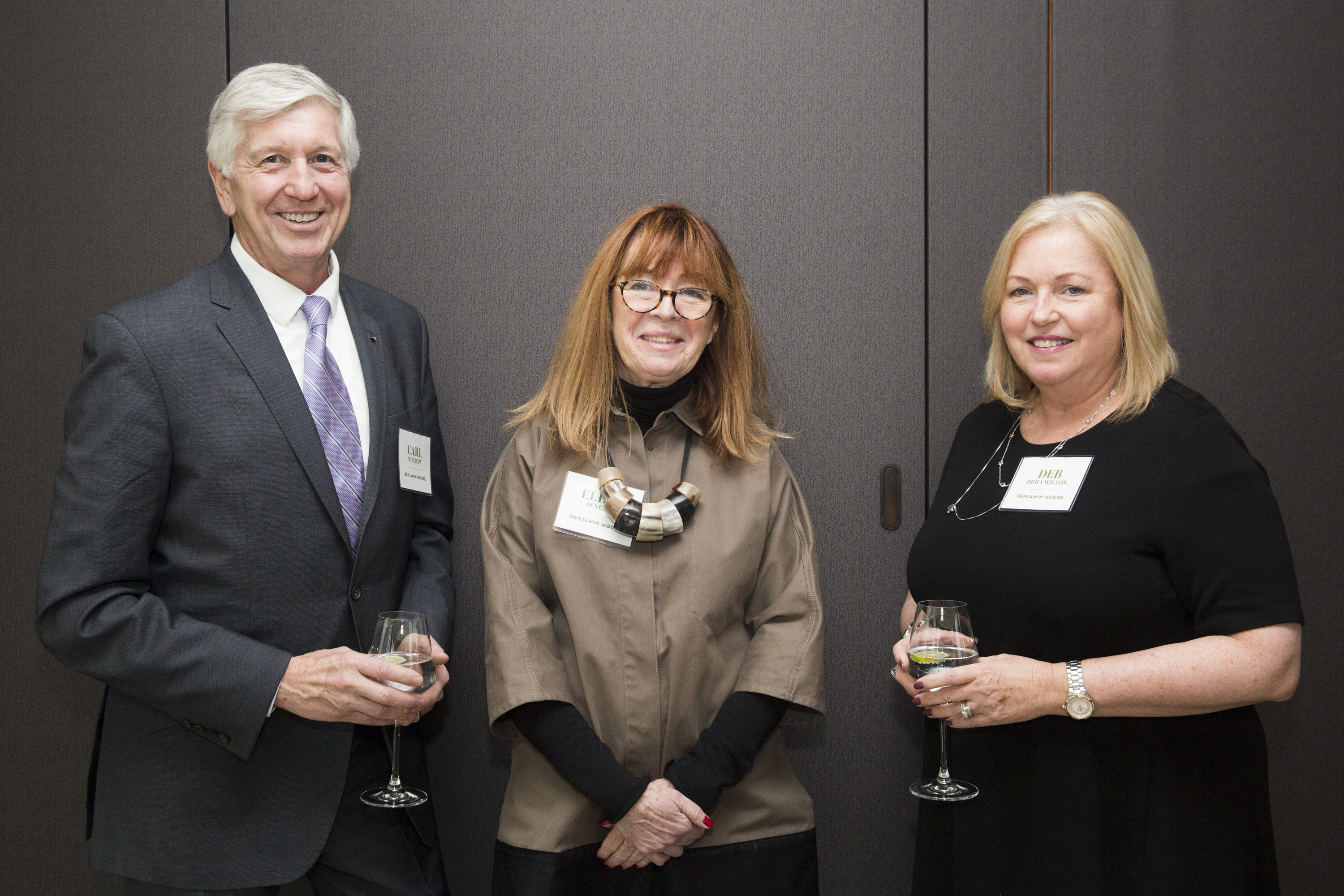 Carl Minchew, Ellen O'Neill and Deb Dehamilton