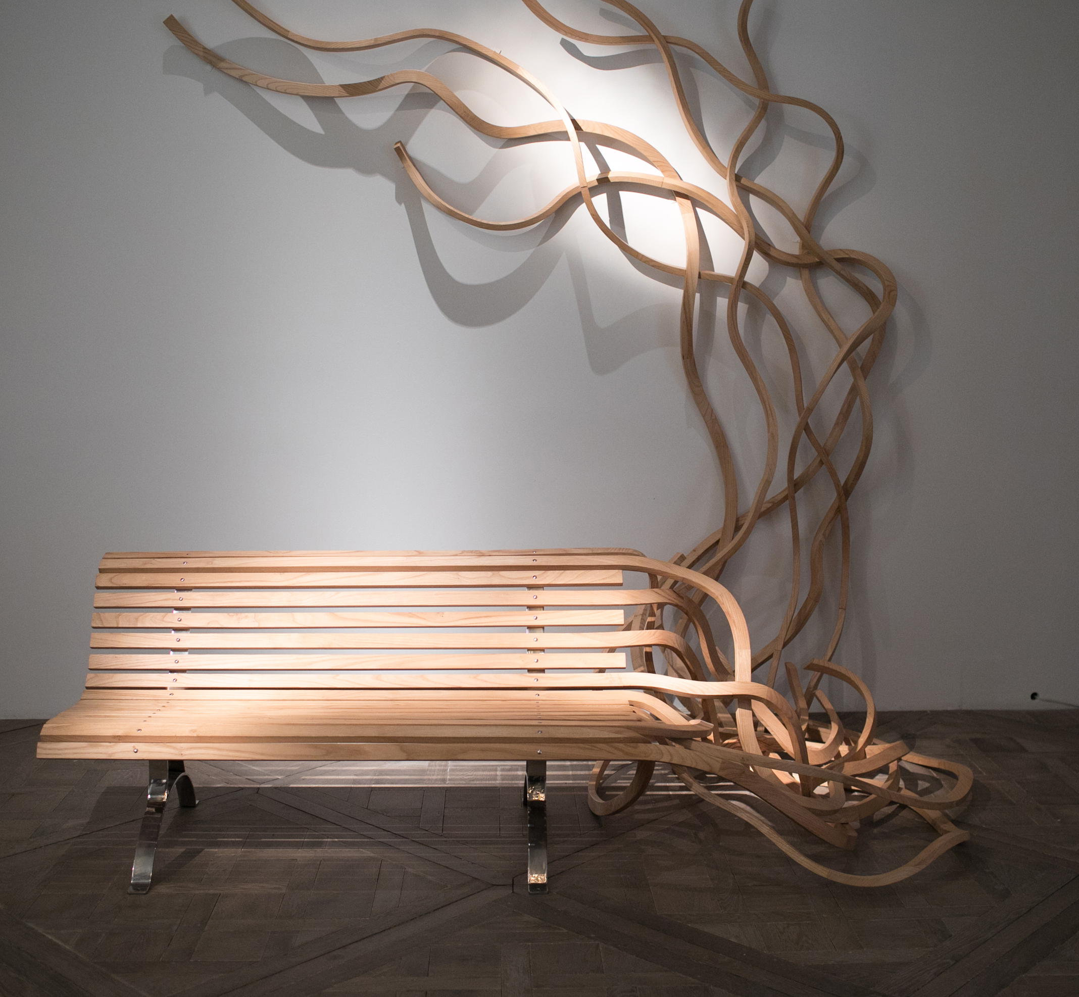 An innovative spin on what a bench should be, by Pablo Reinoso