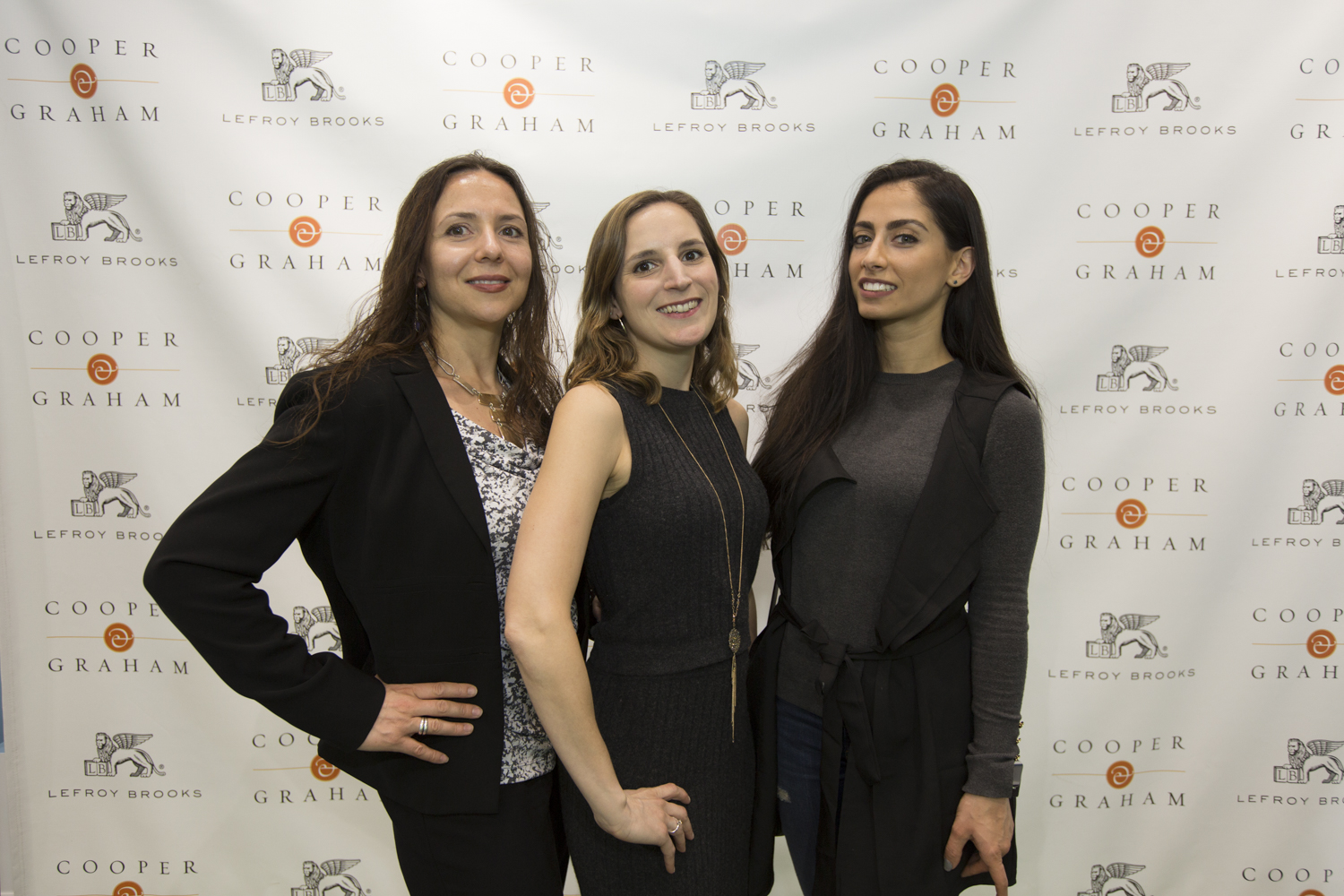 Lina Leonetti, Liz Gallagher and Niloofar Khalighi