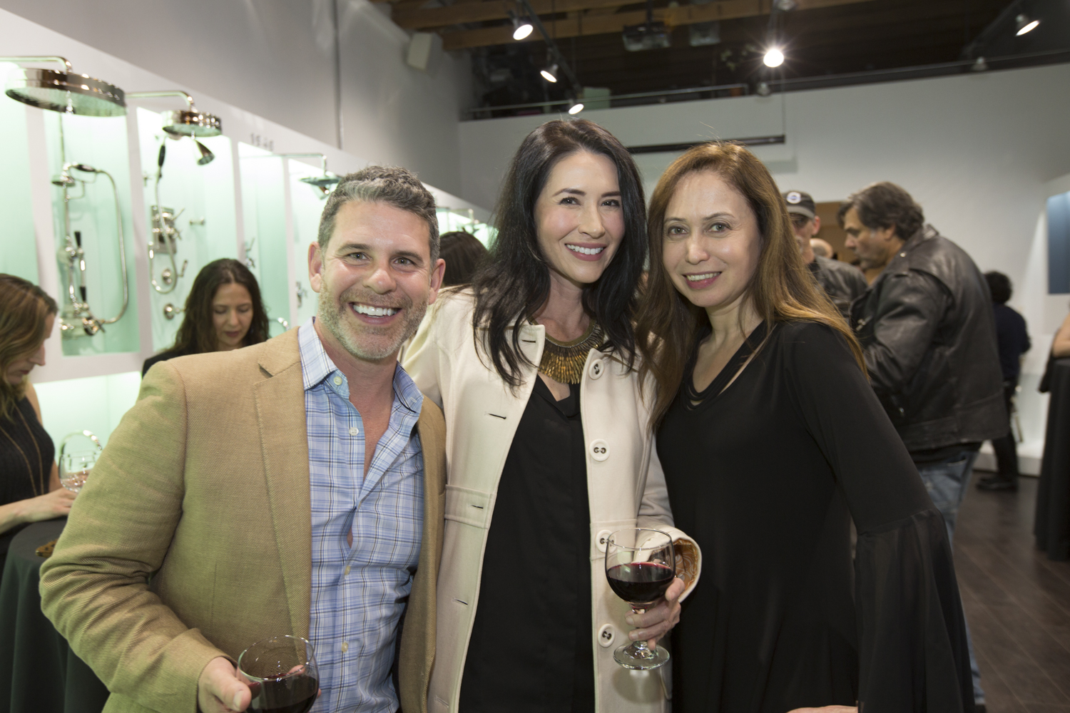 Jason Zimmerman, Nicole Coffman and Virginia Guillian