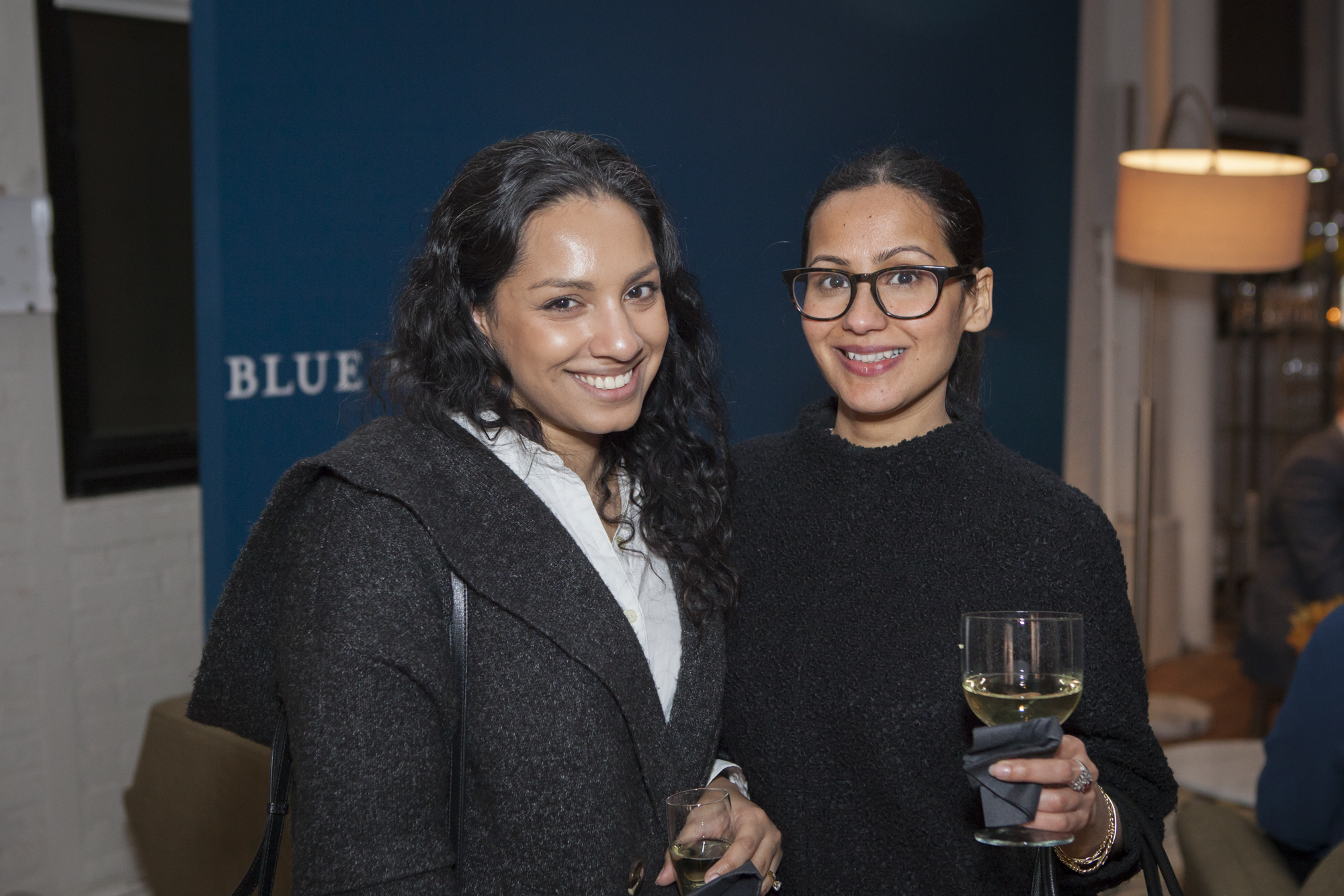 Tina Chadha, Metro New York (right) with guest
