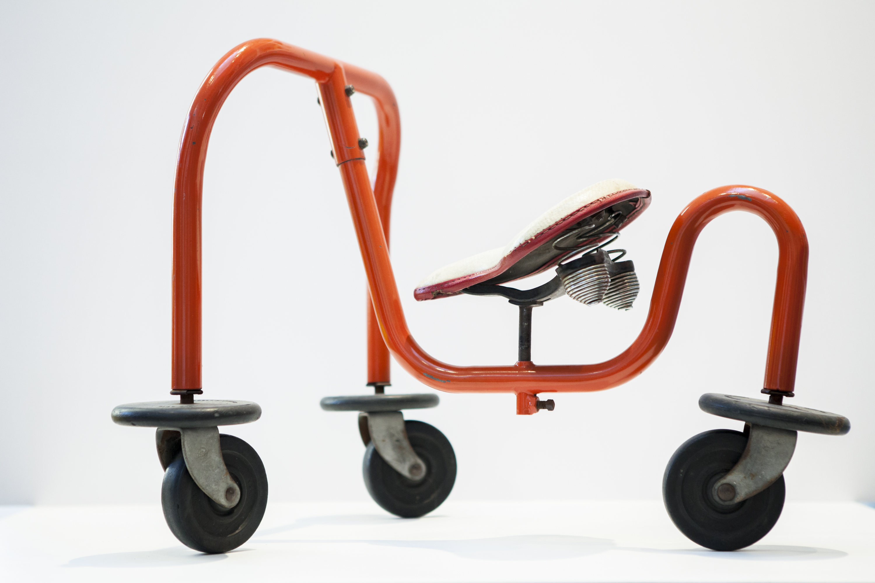 A vintage 1945 Walkee Tricycle by William B. Fageol