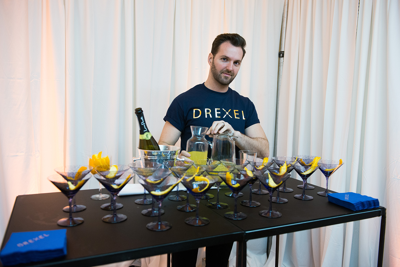 Drinks for guests