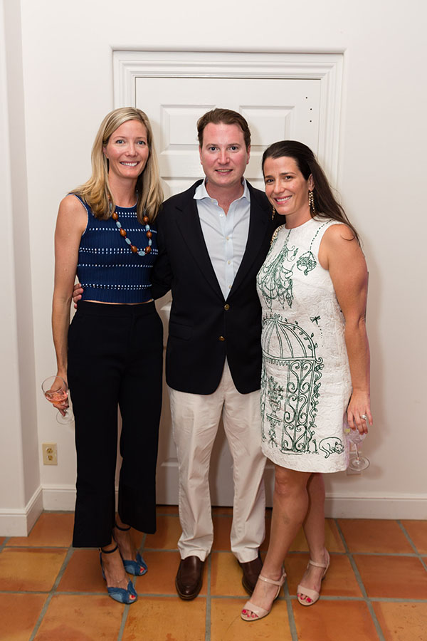 Ellen Kavanaugh with Nick and Caroline Rafferty