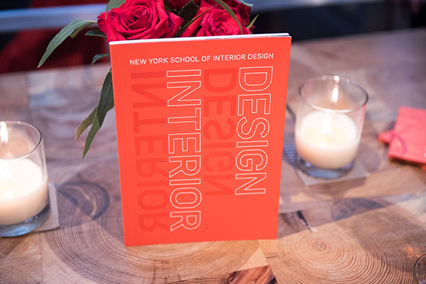 New York School of Interior Design book