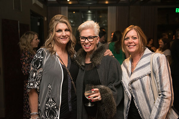 Celebrity designer Kelli Ellis and friends