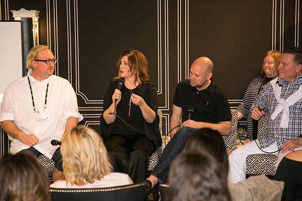 Designers Robert Leleux, Tobi Fairley, Lance Jackson and  David Ecton discuss the latest color trends and how to design in the South.