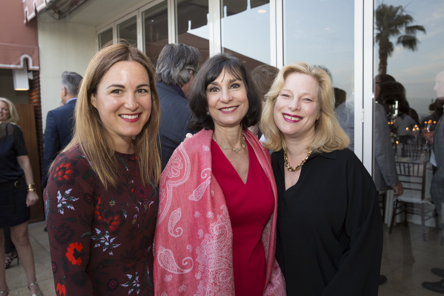 Jennifer Jones Condon, Brenda Saget Darling and Sabine Rothman