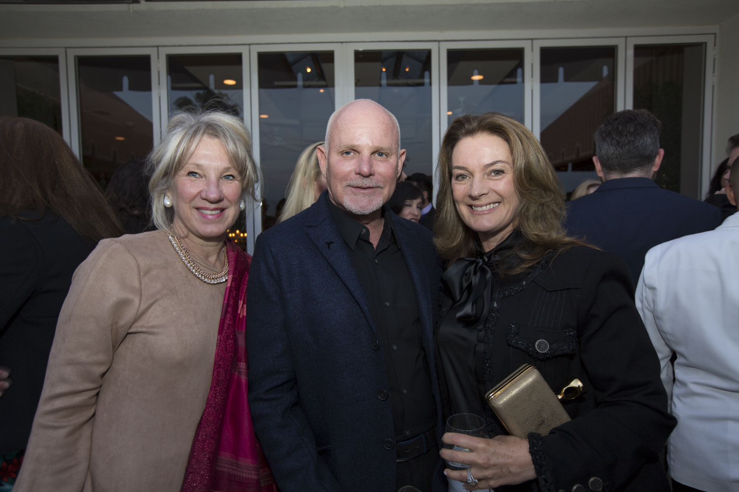 Carolyn Englefield, Richard Hallberg and Lisa Hearst Hagerman