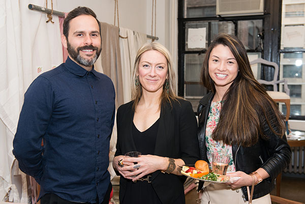 Christopher Cea, Amalia Home Collection; Stacy Snell, Life Designs Group; and Mary Pang, Decor & You