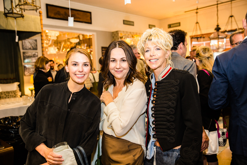 Caroline Mann, Lisa Burdus and Wendy Jay