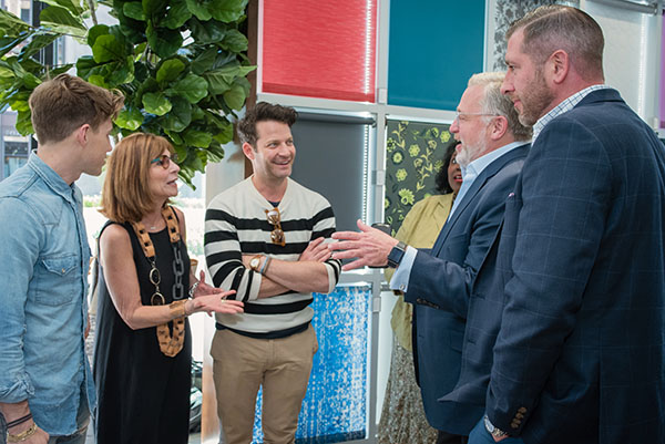 Jeremiah Brent, Nancy Golden, Nate Berkus, Newell Turner and Doug Clarke