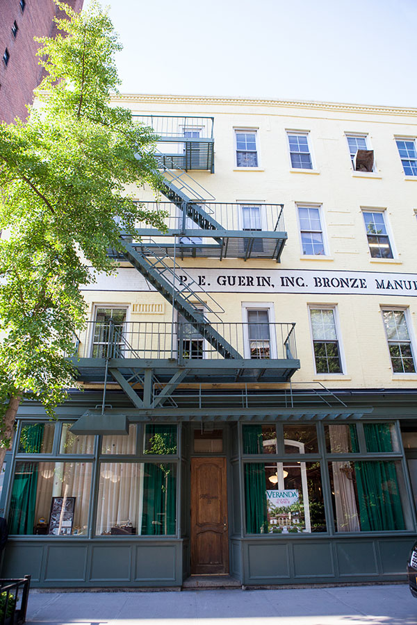 P.E. Guerin foundry and showroom in Greenwich Village