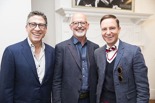 Designers Jeffry Weisman, Andrew Fisher and Ken Fulk
