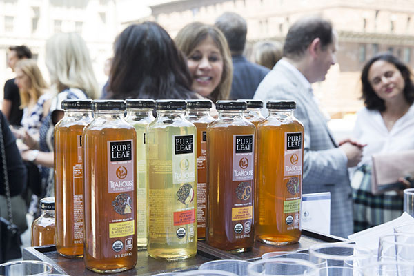 Pure Leaf Tea Collection, an event sponsor