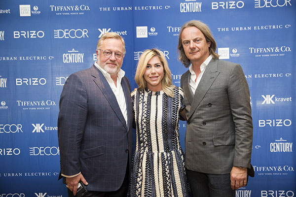 Newell Turner, Hearst Design Group, with designers Katie and Jason Maine