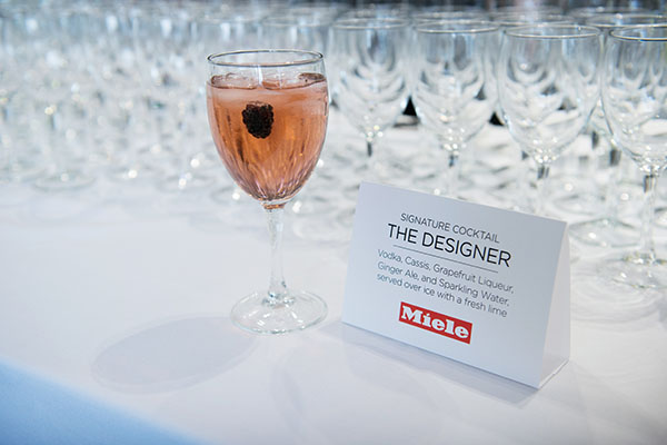 The event's signature cocktail