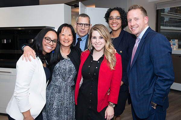 Monique Robinson, Connie Wong, Michael Brahamsha, Mandy Saffer, Yesenia Perez and Mike Taylor