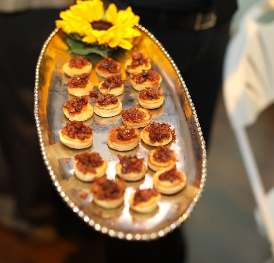 Appetizers for guests