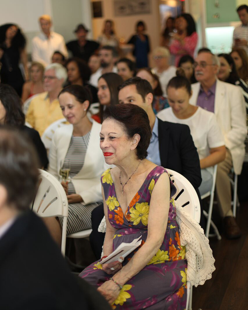Guests during the presentation.