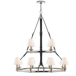 Double Tier Chandelier