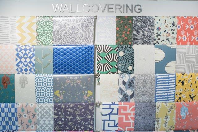 Wallcovering display