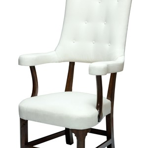 George chair white