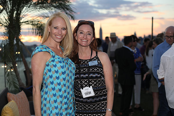 Kelly Sinatra, Head of PR at Benjamin Moore, and Veronica Arcaroli